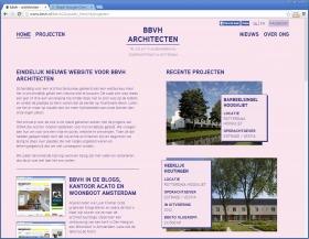 nieuwe website voor bbvh architecten