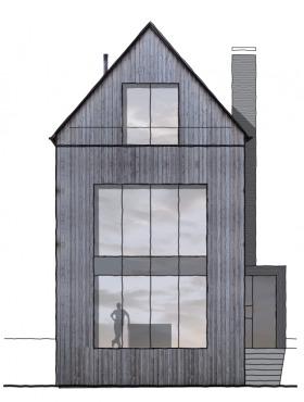 houten huizen in amsterdam noord