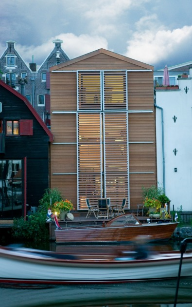 HOYT architect moders private house photostudio Amsterdam wood