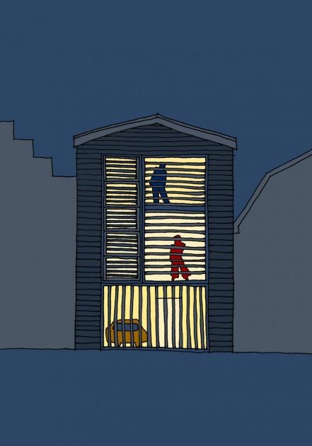 HOYT architect modern woonhuis fotostudio Amsterdam hout schets