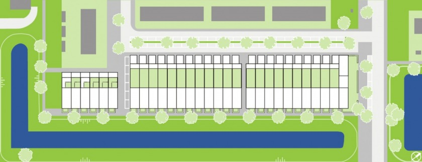 30 houses housing configurator hoogvliet social housing options HOYT architect site plan