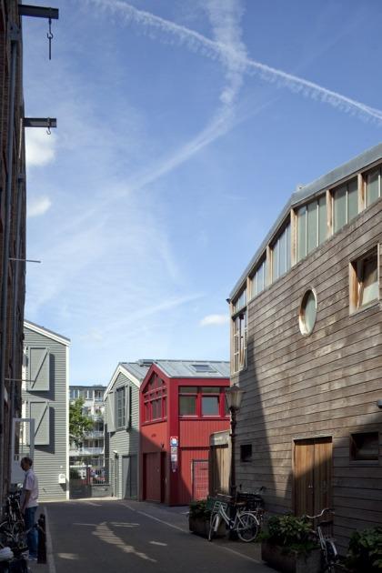 HOYT architecten appartement scheepswerf walvis hout maritiem