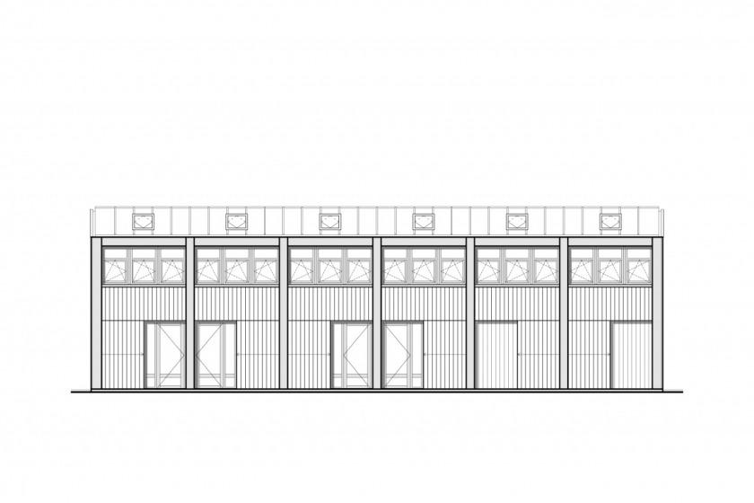 HOYT architecten appartement scheepswerf walvis hout maritiem gevel