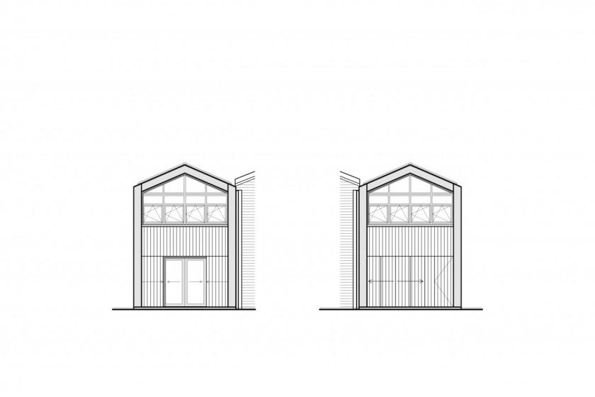 HOYT architect appartment shipyard wood maritime facade