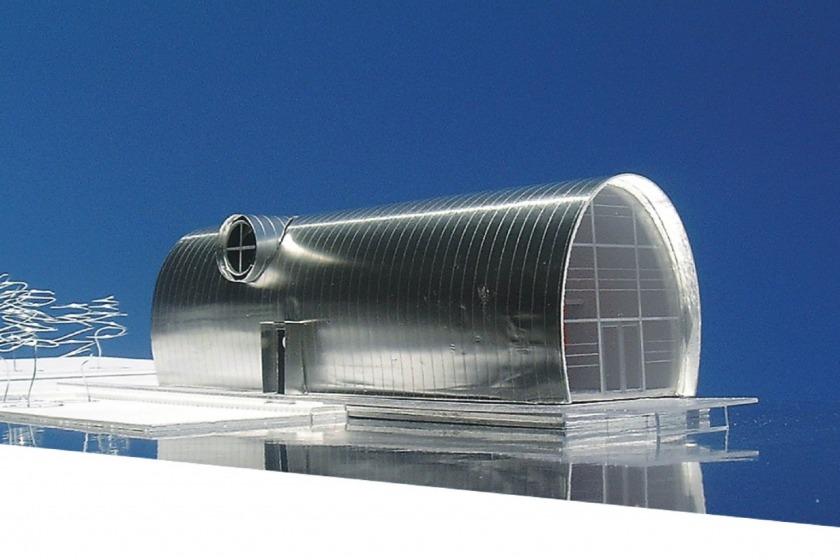 HOYT architect zinken schip rotterdam modern wonen aan het water particulier