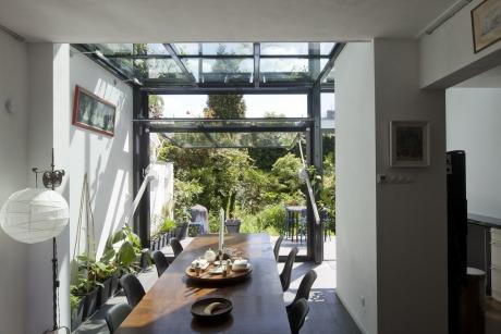 Hoyt architecten projecten - Uitbreiding huis glas ...