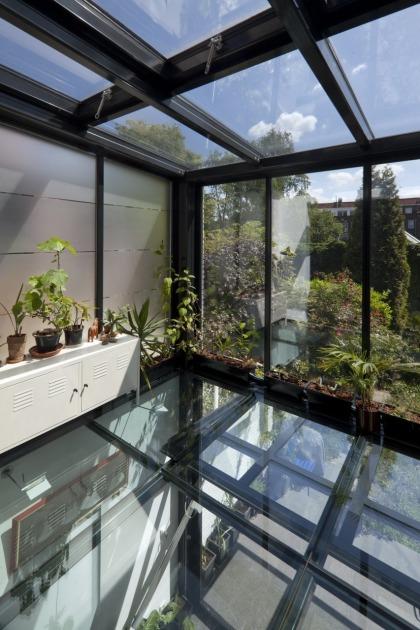 Hoyt architecten 13 for Glazen uitbouw