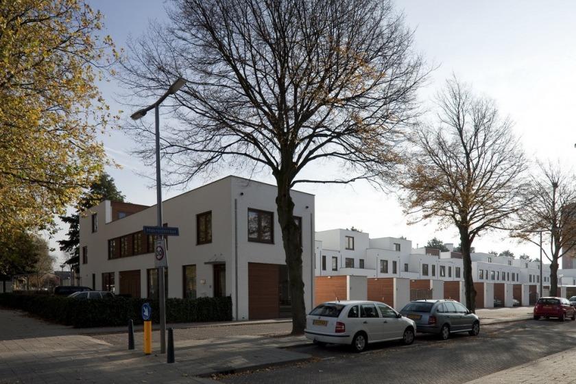30 houses housing configurator hoogvliet social housing options HOYT architect