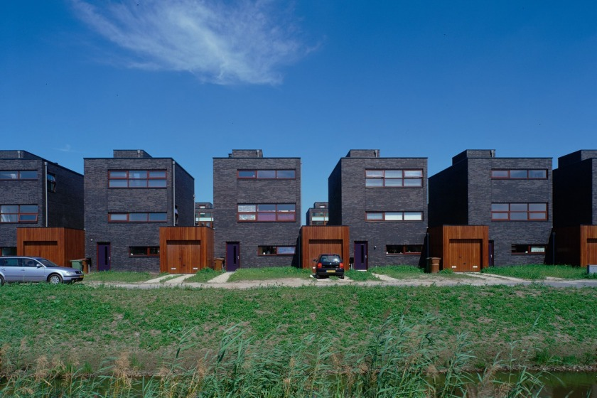 HOYT architect social housing modern architecture brick