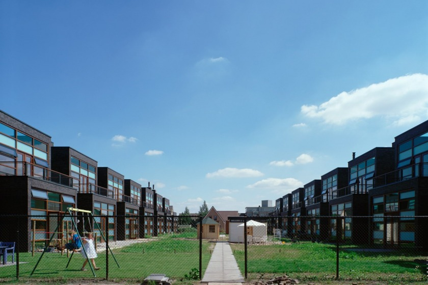 HOYT architect breda kroeten woningbouw woning modern archtitectuur metselwerk baksteen