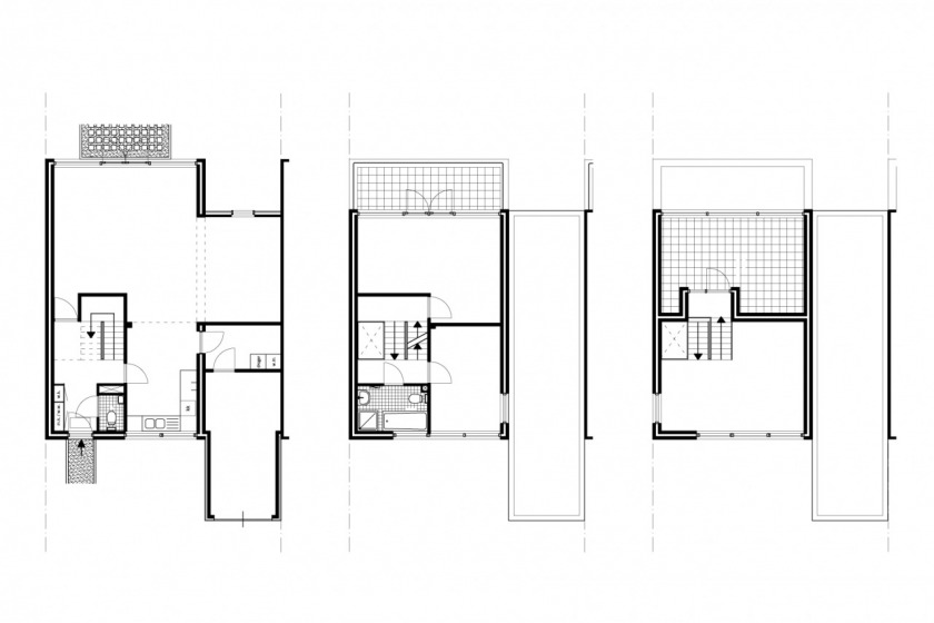 HOYT architect social housing modern architecture brick floorplan