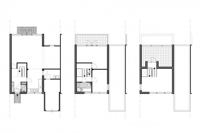 HOYT architect breda kroeten woningbouw woning modern archtitectuur metselwerk baksteen plattegrond