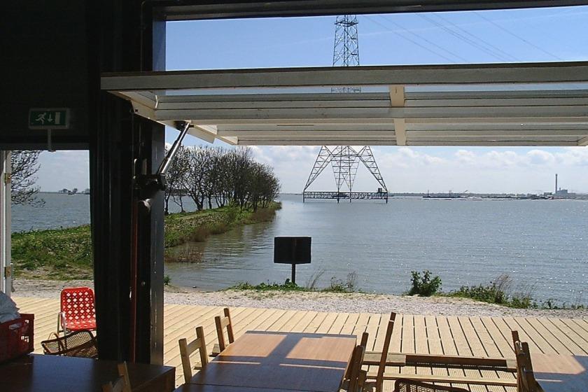HOYT architect Amsterdam IJburg temporary restaurant