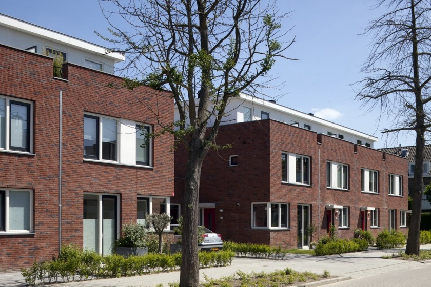 architect HOYT renewal of old area Schiebroek housing architecture