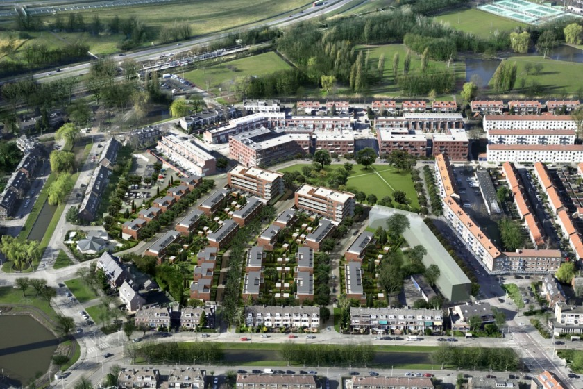 rotterdam schiebroek HOYT architect urban plan urban renewal social housing