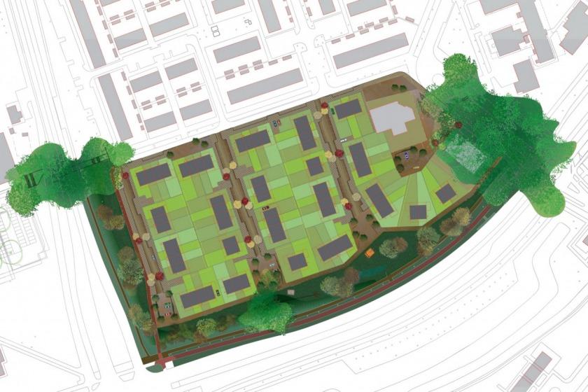 HOYT architect stedenbouw stedenbouwkundig plan Unielocatie Hoogvliet ambitiedocument woningbouw