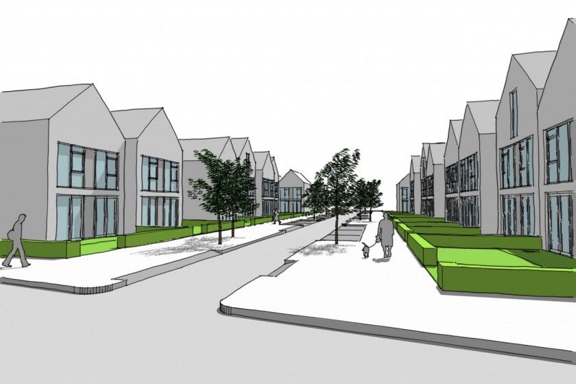HOYT architect urban plan planning Unielocatie Hoogvliet Rotterdam ambition document social housing