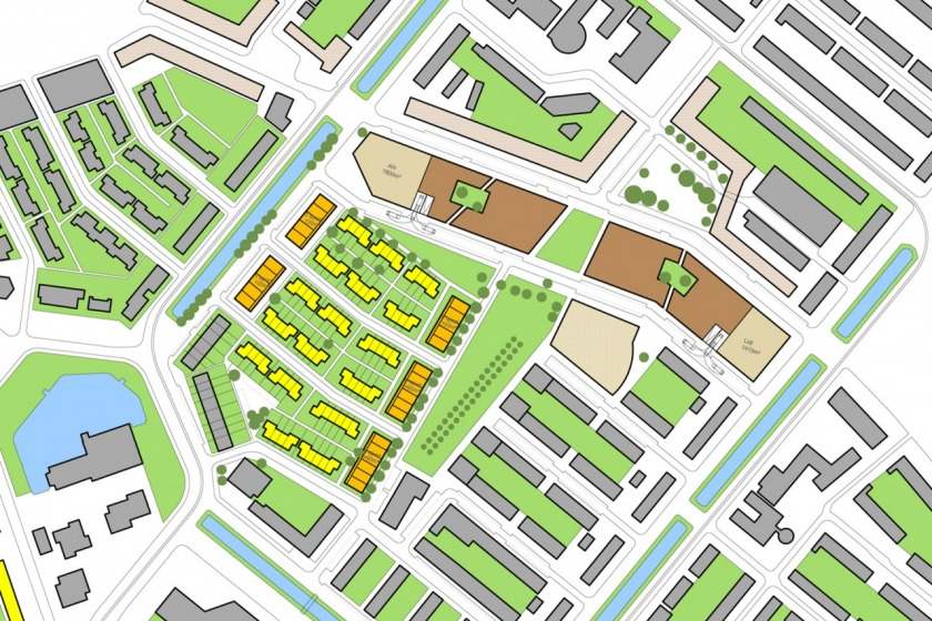HOYT architect rotterdam schiebroek stedenbouwkundige studie stedenbouwkundig plan peppelweg