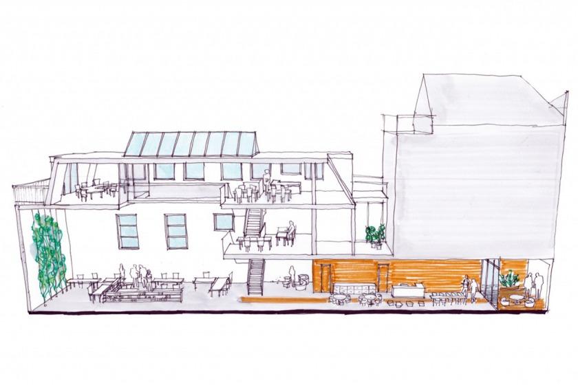 HOYT architect herbestemming transformatie kantoor den haag veenkade