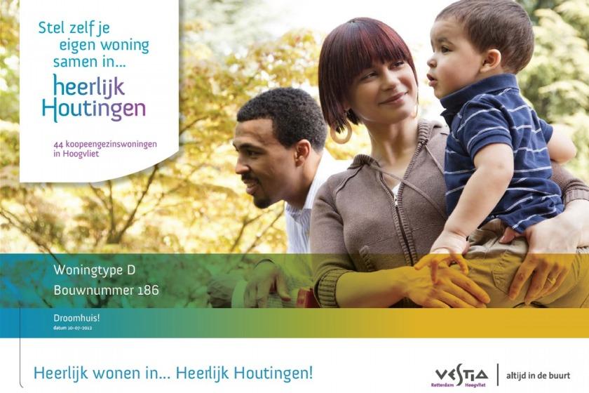 HOYT architect multimedia web applicatie woonwijzer woning configurator woning samenstellen klikken opties uitbouw nieuwbouw project Heerlijk Houtingen Hoogvliet Rotterdam