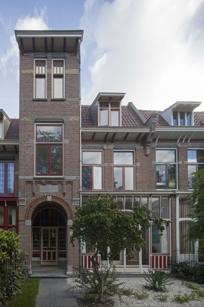 front elevation Duinweg HOYT architects