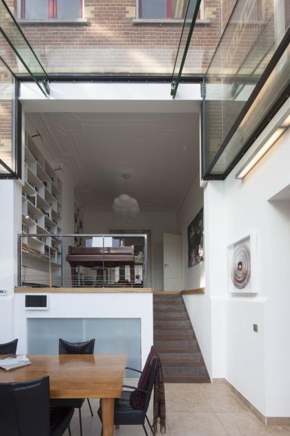 winter garden Duinweg HOYT architects