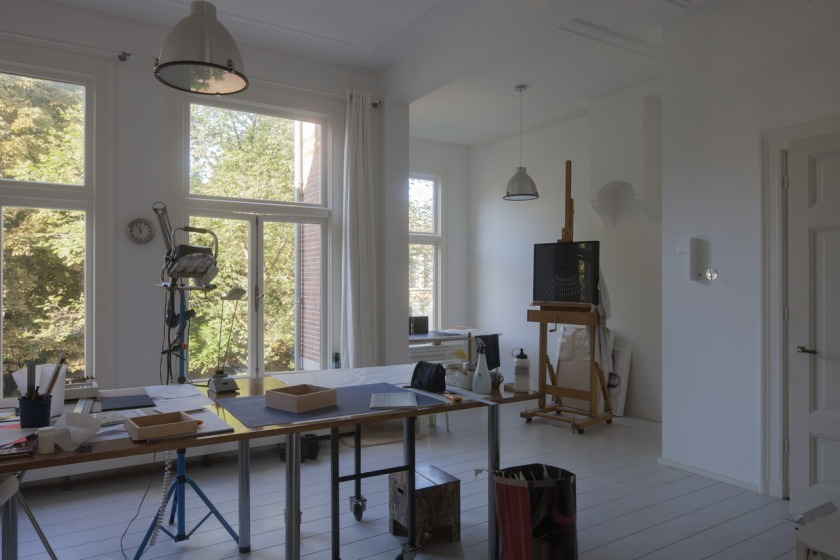 duinweg serre verbouwing atelier
