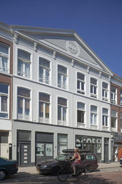 Den Haag kantoor transformatie voorgevel