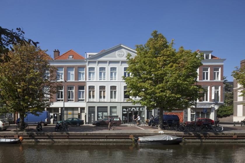 Den Haag kantoor transformatie kerk voorgevel