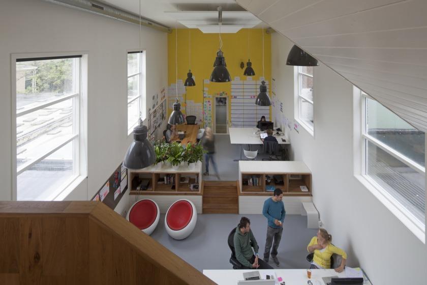 Den Haag kantoor transformatie kerk vide