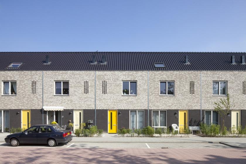 Rotterdam Hoogvliet heerlijk houtingen herstructurering rijwoning