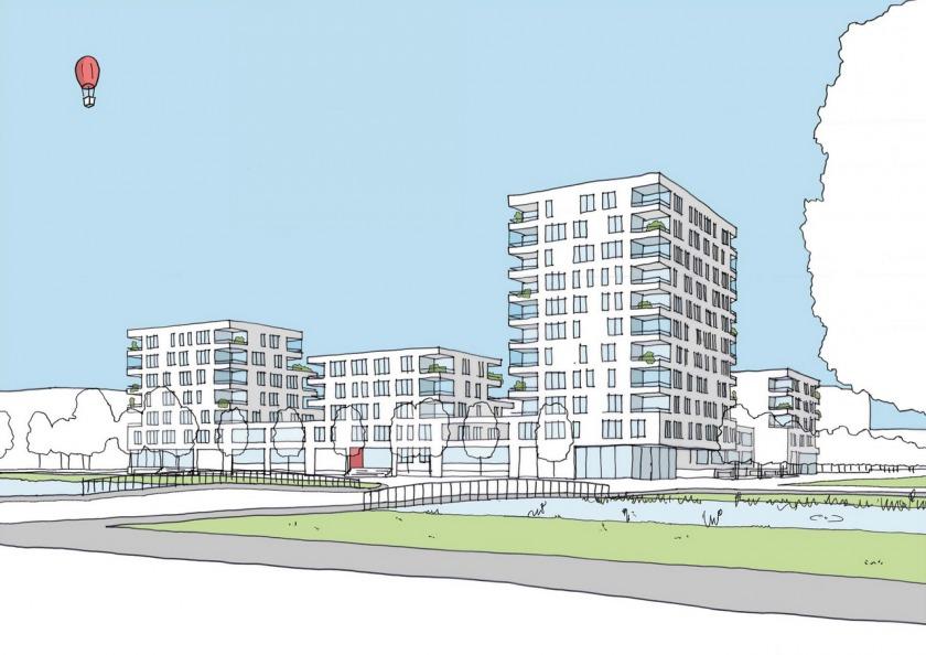 Haarlem Belcanto BBV elevation