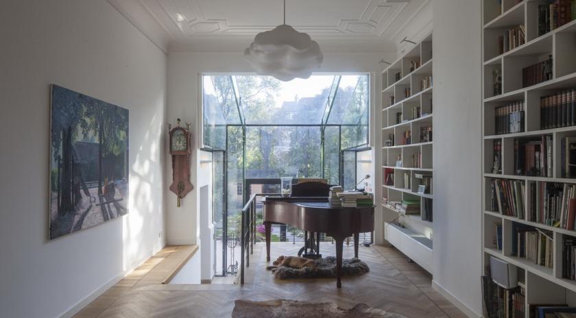 Glazen Achterwand Keuken Den Haag : HOYT architecten glazen uitbouw duinweg