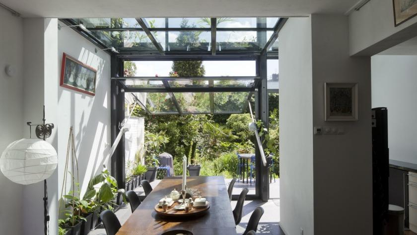 Glazen Aanbouw Rotterdam HOYT Architecten