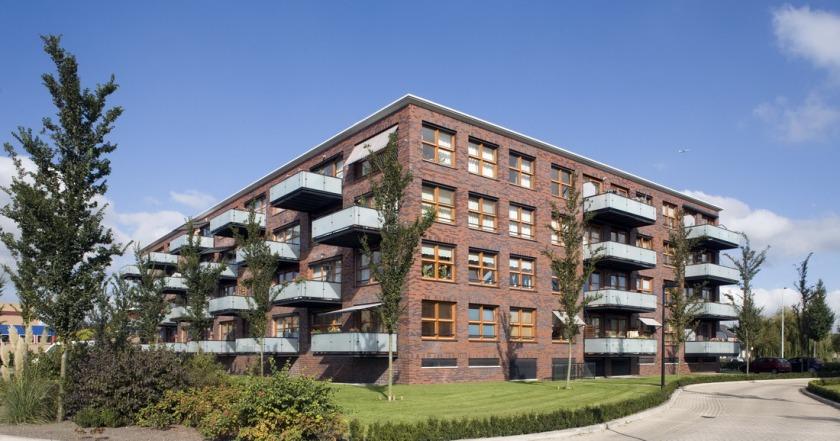 appartementen gebouw Heemskerk HOYT Architecten
