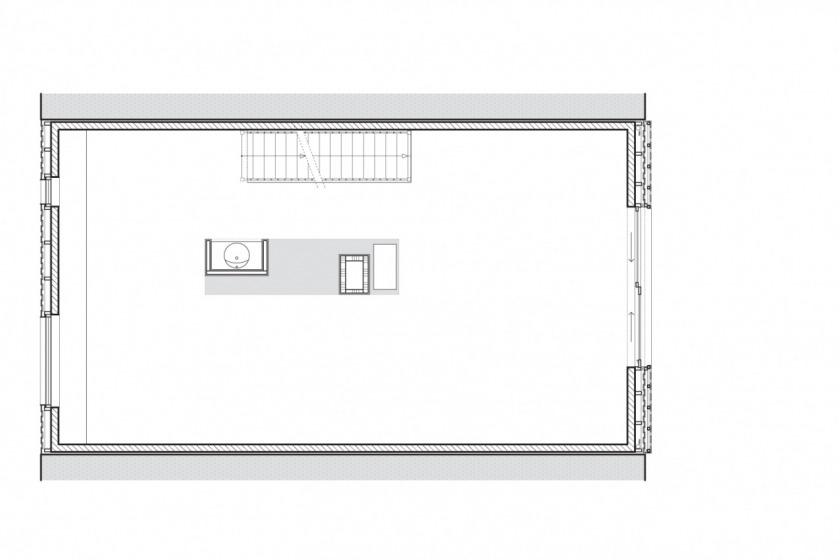 particuliere woning huis architectuur Amsterdam IJburg plattegrond eerste verdieping