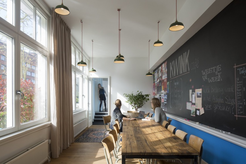 HOYT ARCHITECTS INTERIOR DESIGN OFFICE KWINK