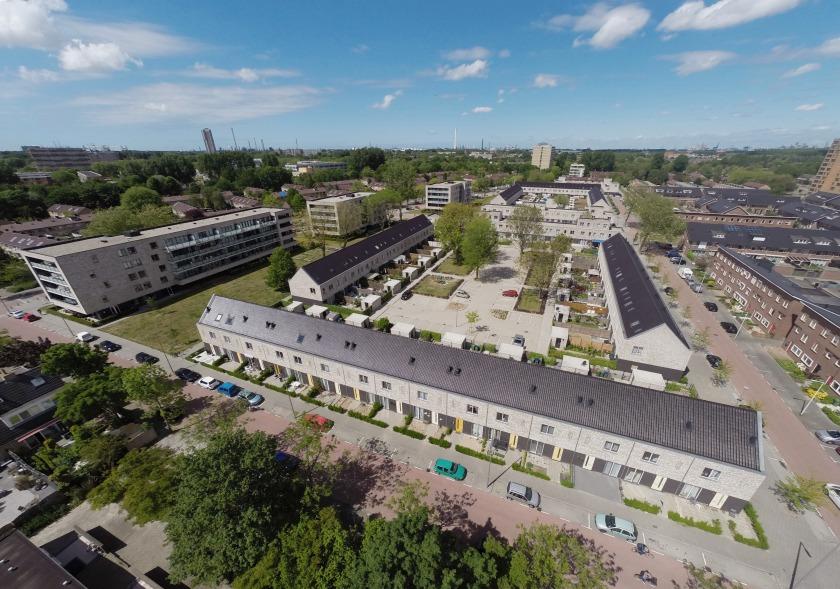 Hoyt architecten luchtfoto hoogvliet