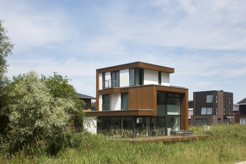 Gele Lis architectuur zelfbouw particulier Den Haag