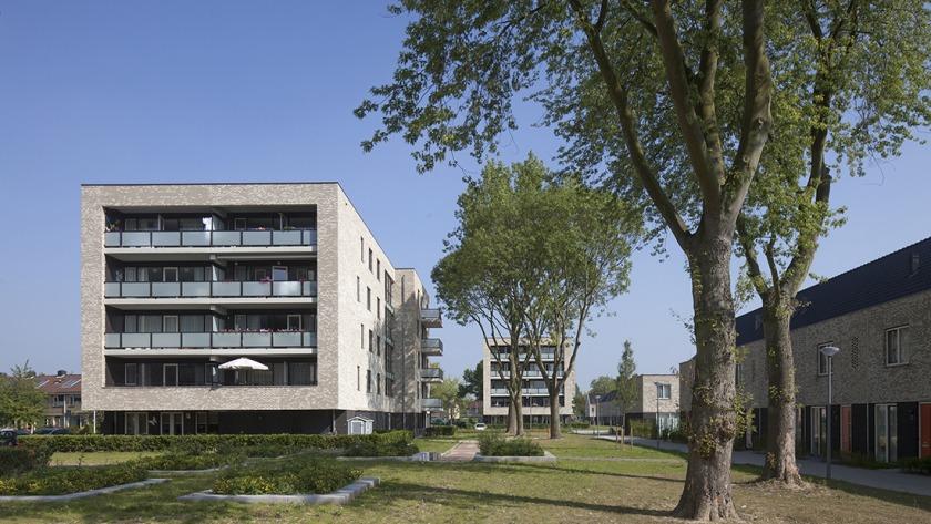 Heerlijk Houtingen Hoogvliet architectuur Vestia