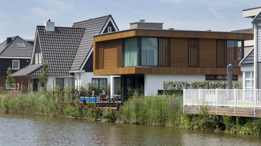 HOYT architec The Hague self built villa
