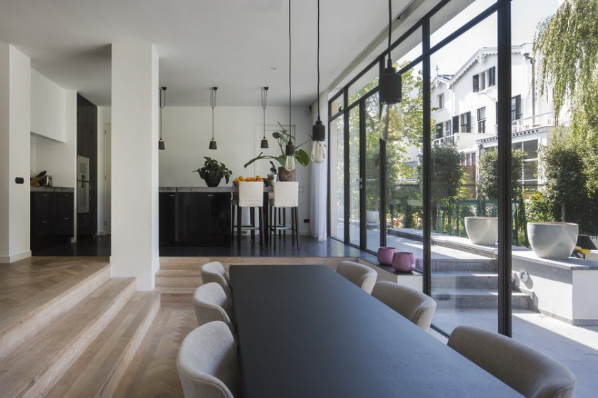 refurbishment villa Rotterdam HOYT Architects