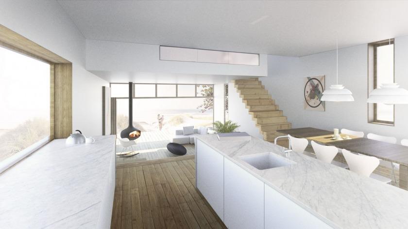 House Monster Split Level HOYT Architects