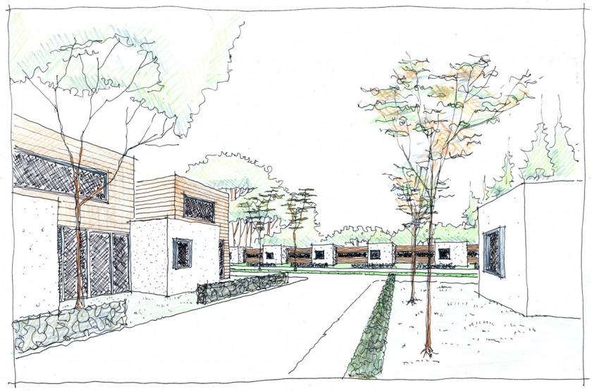 Patiowoning herstructurering inbrei locatie villa HOYT architect