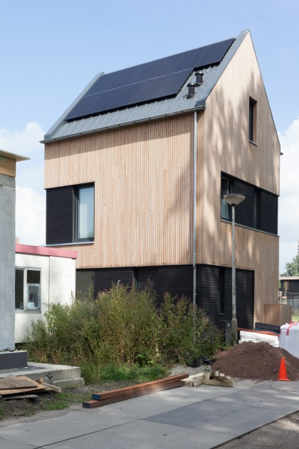 architect self-built house sustainable