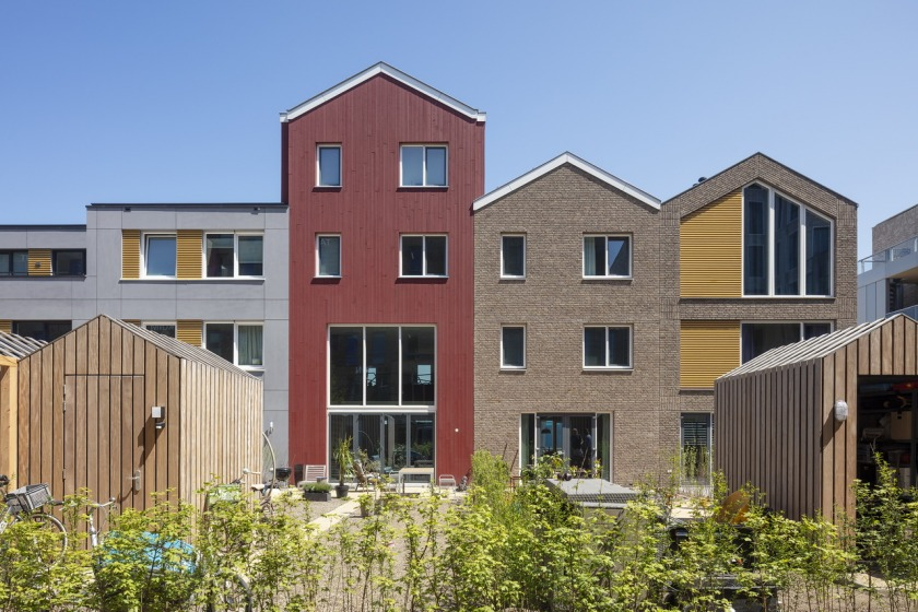 HOYT Architects housing Scheveningen