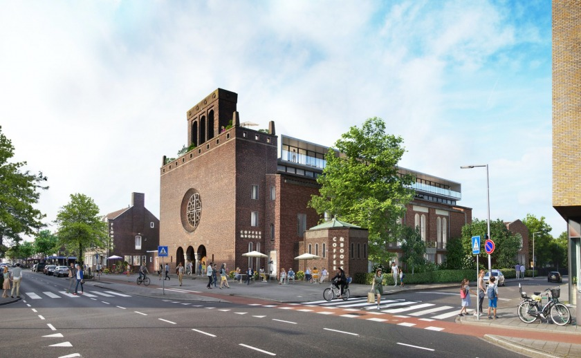 Transformation Church Rotterdam HOYT Architects