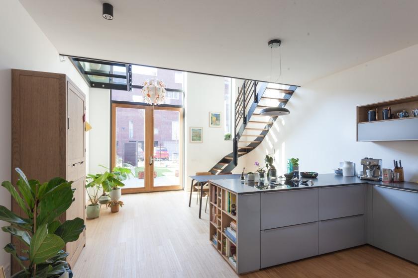 vide trap huis Mullerpier