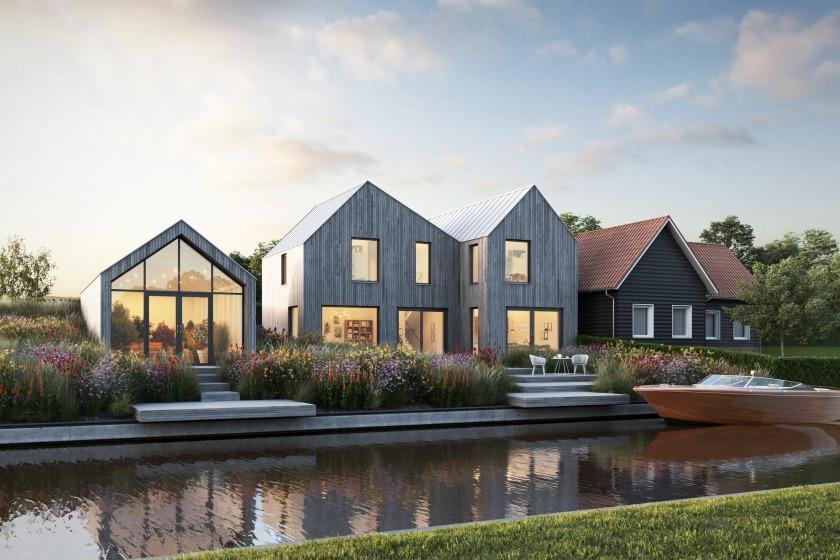 Houten huis door HYT Architecten